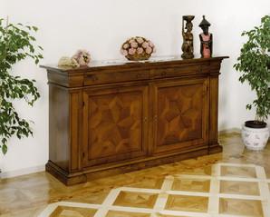 Mobili classici in legno massello bordignon danilo for Produttori mobili veneto