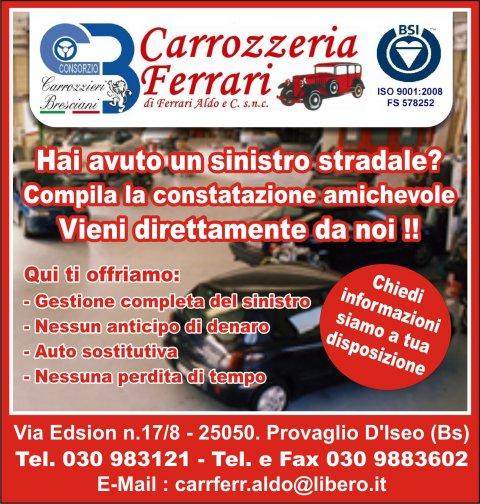Carrozzeria carrozzeria ferrari snc portale marketing for Garage programma progetti gratuiti