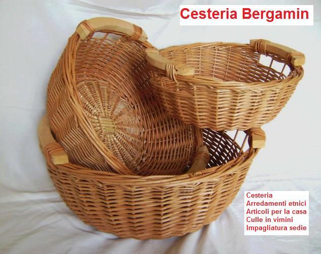 Cesteria arredamenti impagliatura cesteria bergamin for Arredamenti bergamin