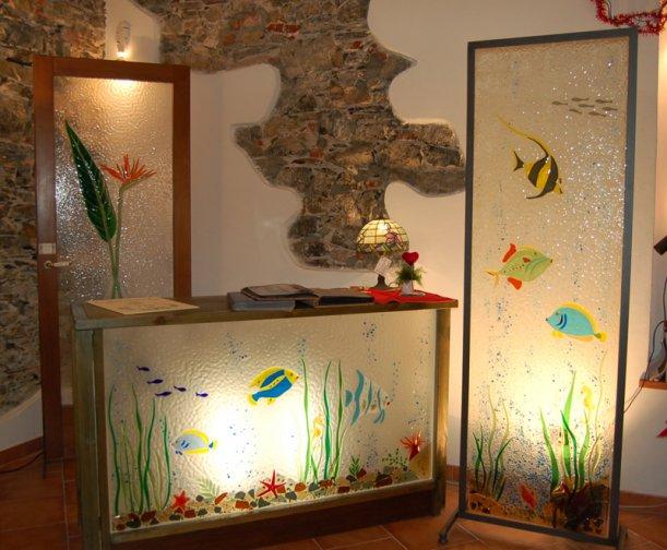 Vetrate artistiche e ferro corrado vetrate artistiche for Vetrate per interni