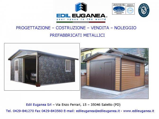 Produzione Di Prefabbricati Metallici Edil Euganea Srl Portale