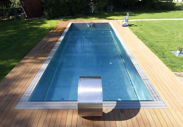 Costruzioni piscine inox swimmingpool pool estate ag for Pool edelstahl