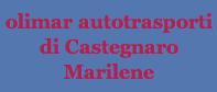 Logo Olimar autotrasporti di Castegnaro Marilene